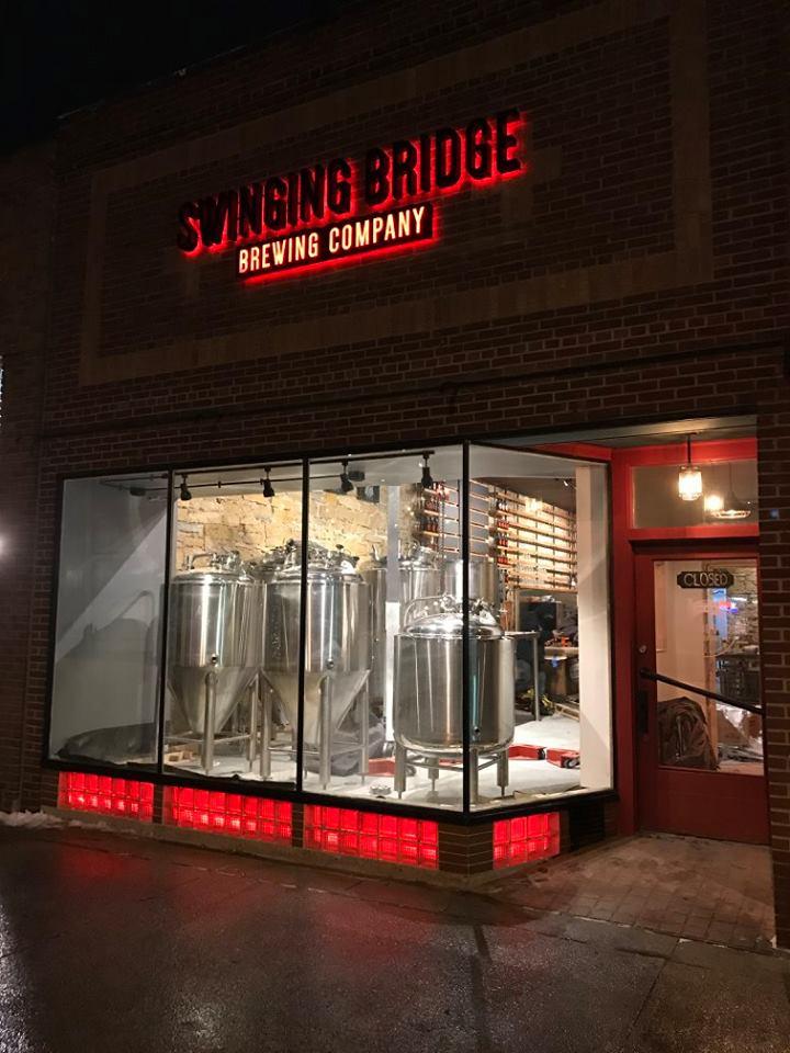 Swinging Bridge Brewing Company Brewery In River Falls